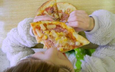 Pizza párty v VII. třídě